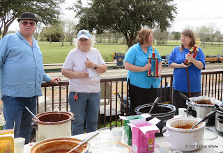 Photo: Gary Brothers, Mary Lou Pasley,  JoAnn Maitland and Marianne Nevil     HALS Chili Fest Meet 2014-0301 RPW