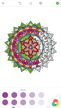 Mandala Coloring Pages By PeakselGames APK Screenshot Thumbnail 16