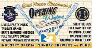 Sunday Tailgate - Shorewood Brat House