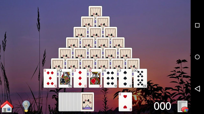 All-Peaks Solitaire Screenshot 2