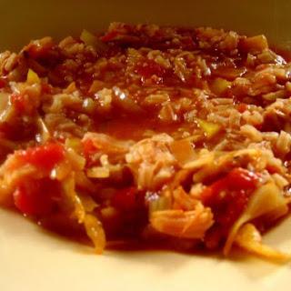 Chicken Golumpki Soup.
