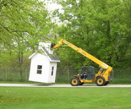Photo: Moving the Shed?