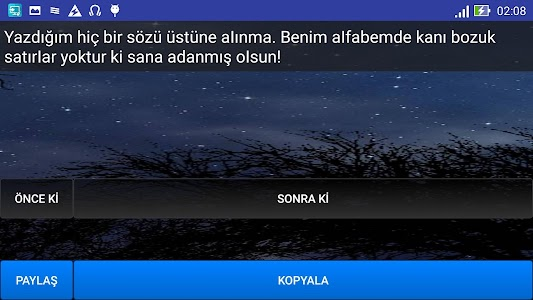 Bela Sözler screenshot 8