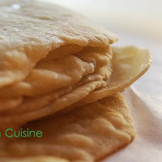 Clean Homemade Flour Tortillas