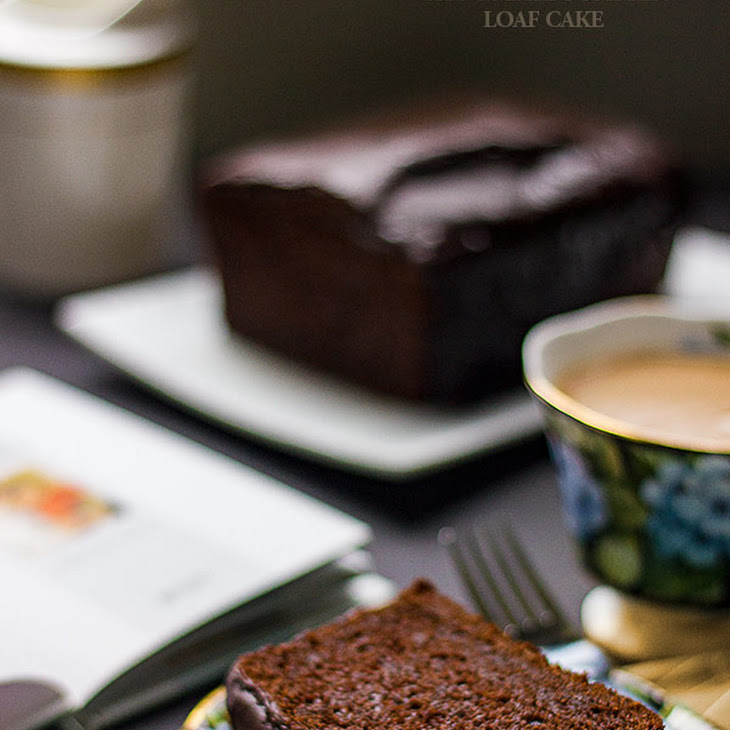 Fudgey Chocolate Pumpkin Loaf Cake