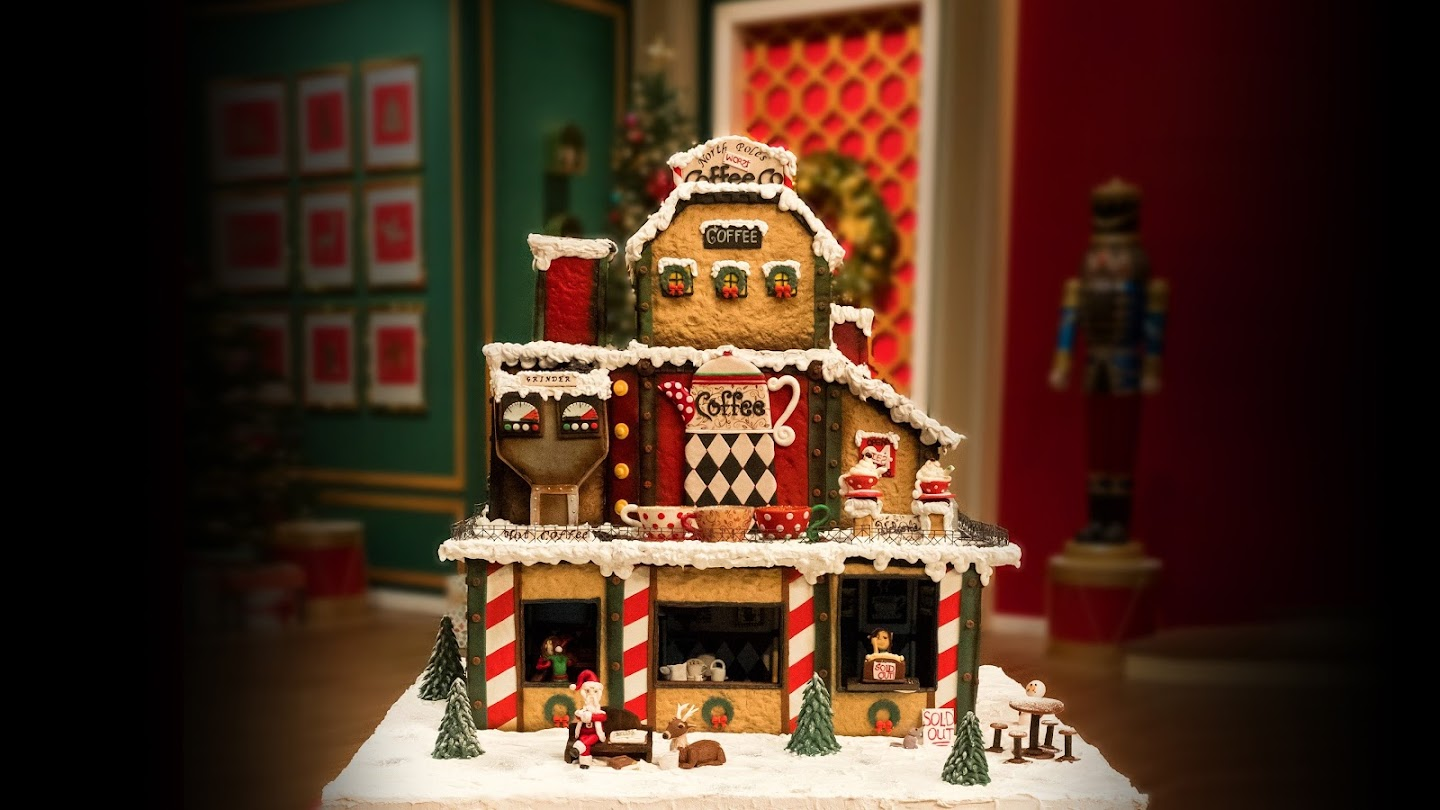 Watch Holiday Gingerbread Showdown live
