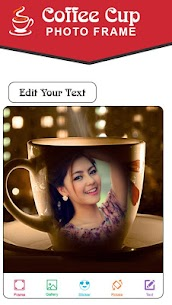 Coffee Cup Photo Frames New 2