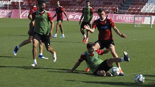 Máxima intensidad en la acción entre Corpas y Yanis.