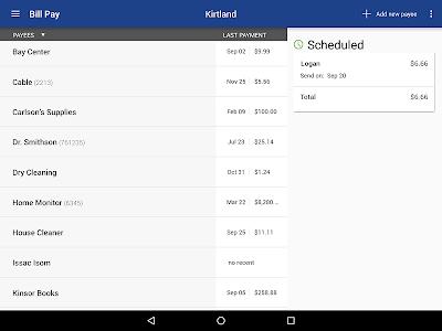 Kirtland FCU Mobile Banking screenshot 7