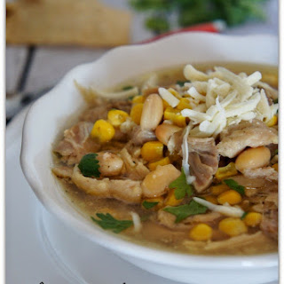 Recipe for Slow Cooker White Bean and Chicken Chili