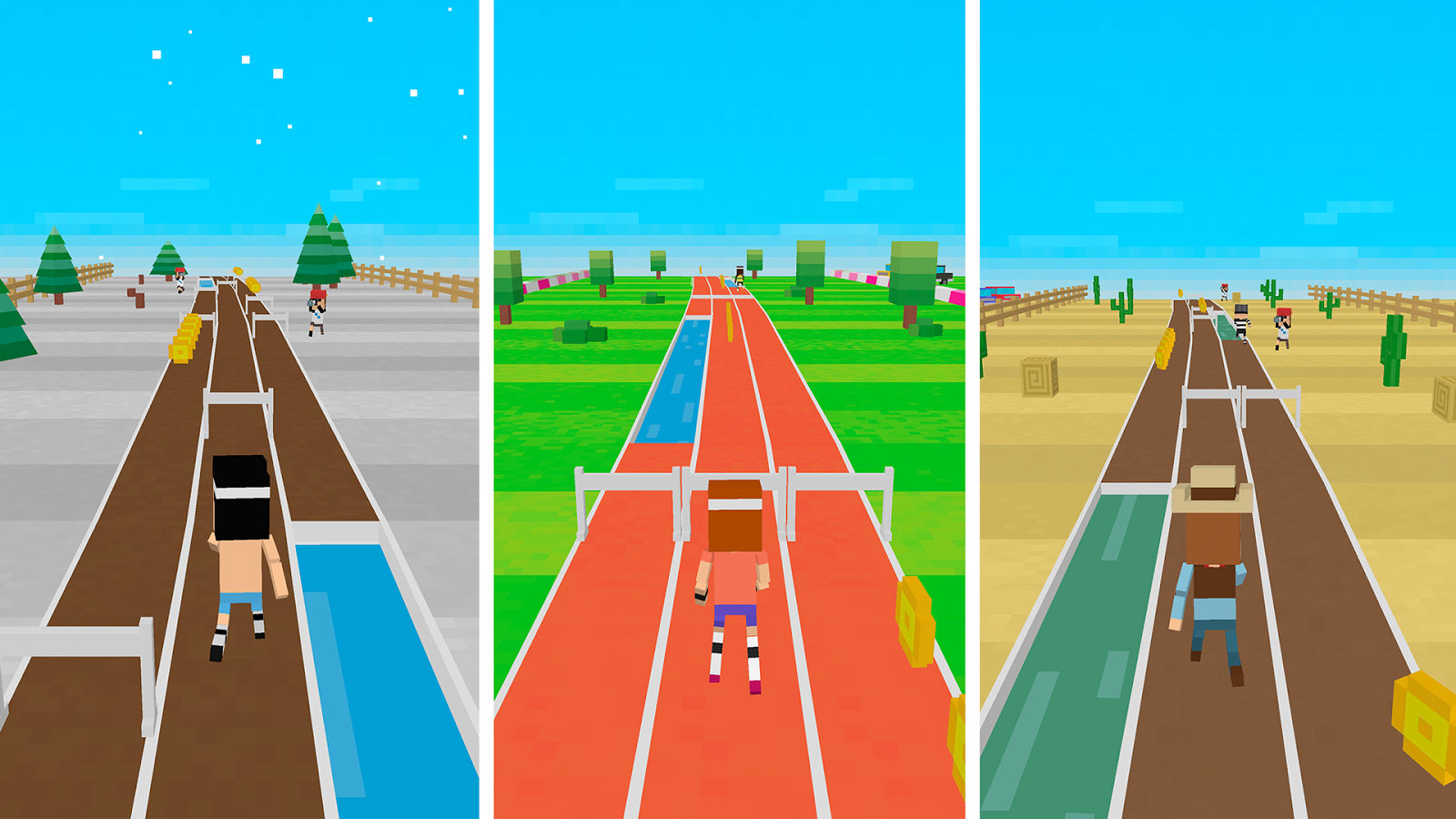 Retro Runners X2 - Endless Run - screenshot