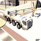 Heavy Construction Crane Drive icon