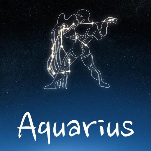 Zodiac Aquarius Go Keyboard