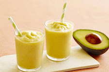 Avocado Orange Smoothie