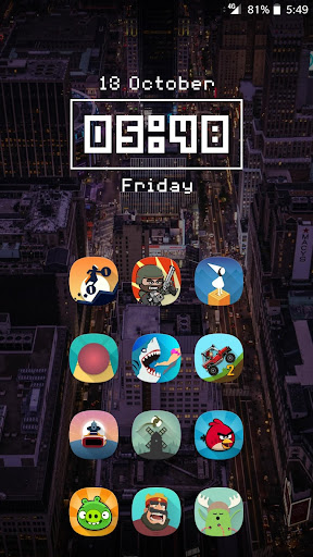 Fusion UI - Androidu2122 Oreo S9 Icon Pack  screenshots 2
