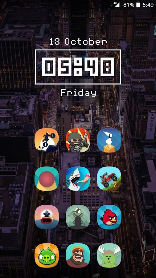 Fusion UI - Android™ Oreo S8 Icon Pack- screenshot