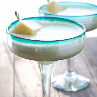 Pineapple Cilantro Margarita.