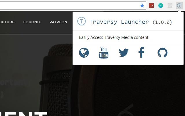 Traversy Launcher