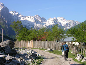 Photo: Hiking the Accursed Mountains