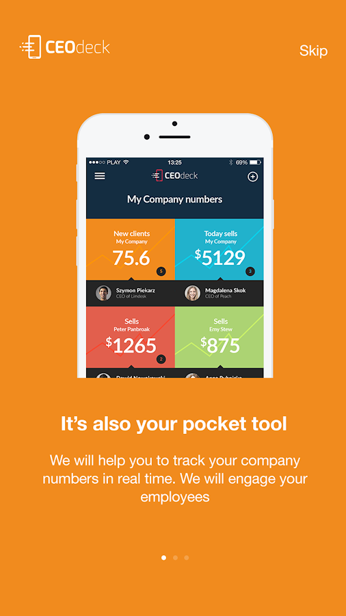CEOdeck - All numbers, one app- screenshot