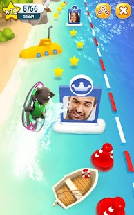Talking Tom Jetski Screenshot