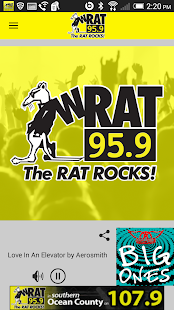 WRAT 95.9 The Rat Player- screenshot thumbnail