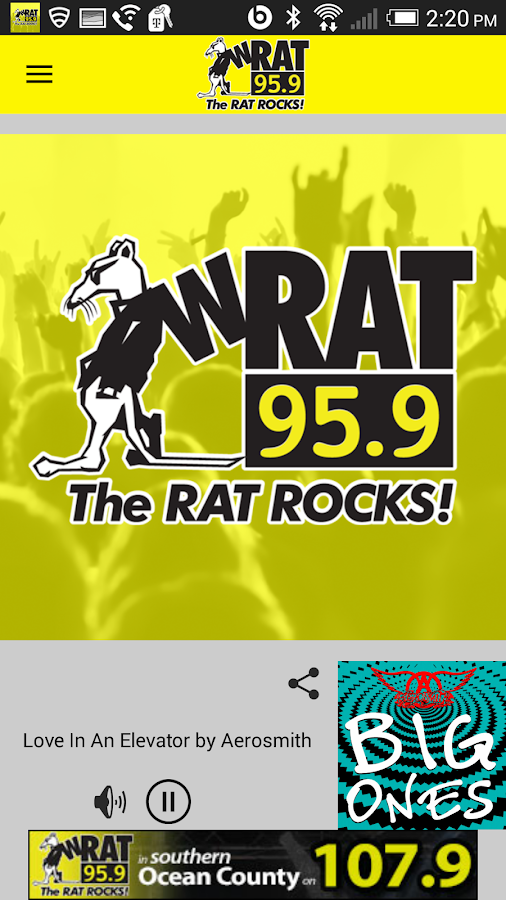 WRAT 95.9 The Rat Player- screenshot