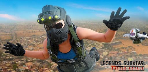 Epic Survival Battle Royale Shooting Game with Legends Arena Battleground War