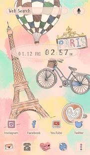 Tải Game Hình nền xinh xắn I Love Paris