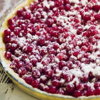 Fresh Redcurrant Pie.