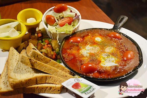 Michino Diner 米奇諾美式早午餐(民族店)│紅酒牛尾烤蛋早餐真好吃!(近捷運信義國小站)