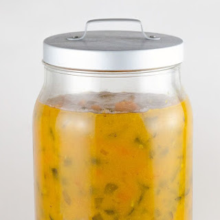 Home-made Piccalilli