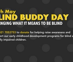 Blind Buddy Day : The League Of Friends Of the Blind - LOFOB