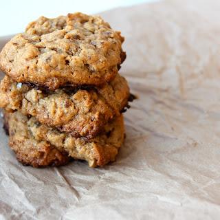 Peanut Butter Oatmeal Cookies (GF, Vegan)