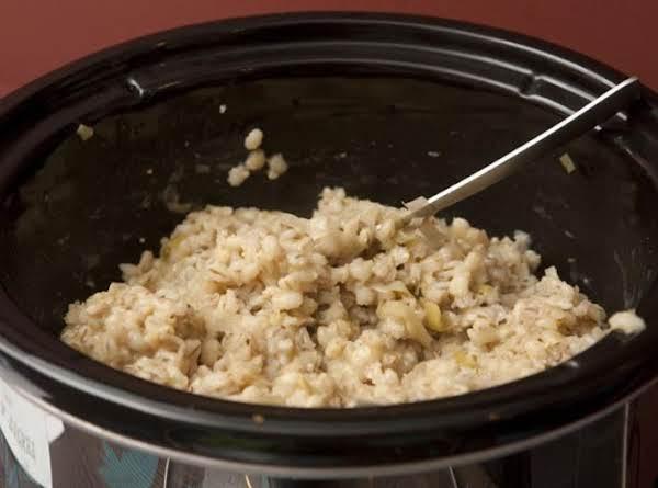 Leek And Barley Risotto Recipe