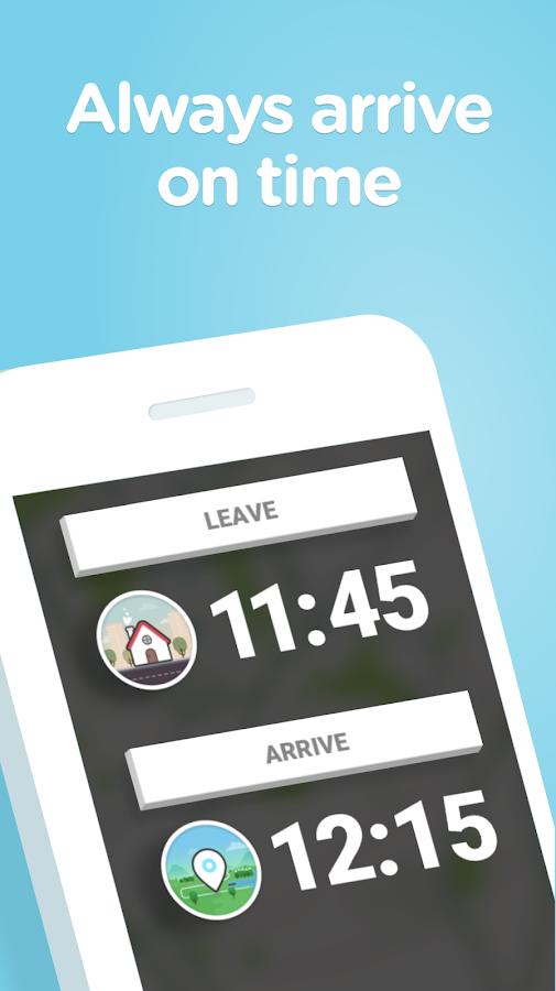 Screenshots of Waze for iPhone