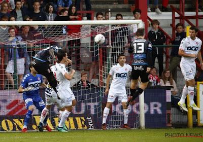 Kortrijk-Moeskroen eindigde op 1-1