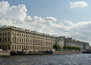 Photo: These are some of the five buildings that comprise the Hermitage.