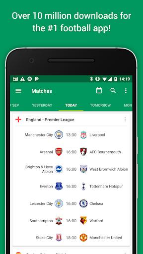 Soccer Scores Pro – FotMob v61.0.3752.20170910 [Paid]