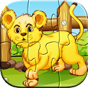 Zoo Animal Puzzles for Kids icon