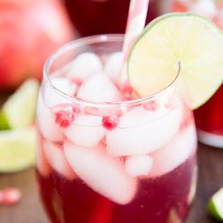 Pomegranate Lime Spritzer Recipe