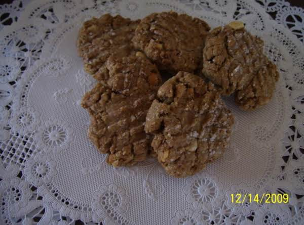 Golden Peanut Butter Cookies