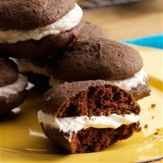 Sam's Chocolate Sandwich Cookies.