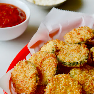 Baked Parmesan Zucchini Chips.