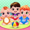 Triplet Baby Daycare Newborn Nanny icon