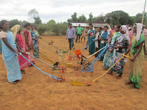 Photo: Field day with implements from Agro-vision in Nagpur, Jharkhand, India [photo from Agro-Vision, 2014]