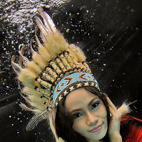 Spellbound by Tito Adinoegroho - People Portraits of Women ( underwater )