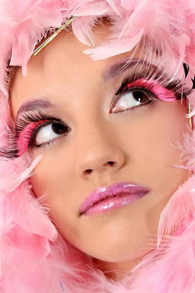 Photo: Pink Sugar Fairy eye makeup