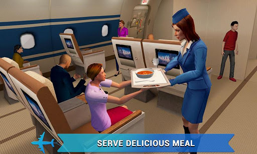 Airplane Flight Attendant -Career Job Sim  screenshots EasyGameCheats.pro 4