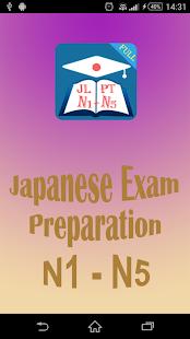 JLPT Practice N1-N5 - náhled